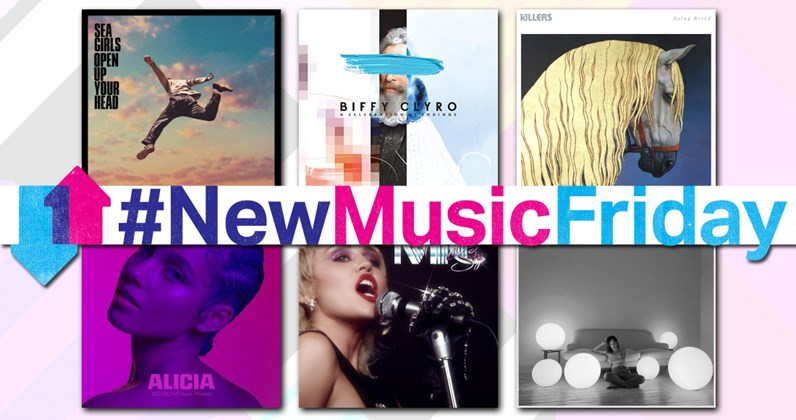 New music releases this week uk