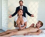 Brazzers stick it in my ass before we get caught