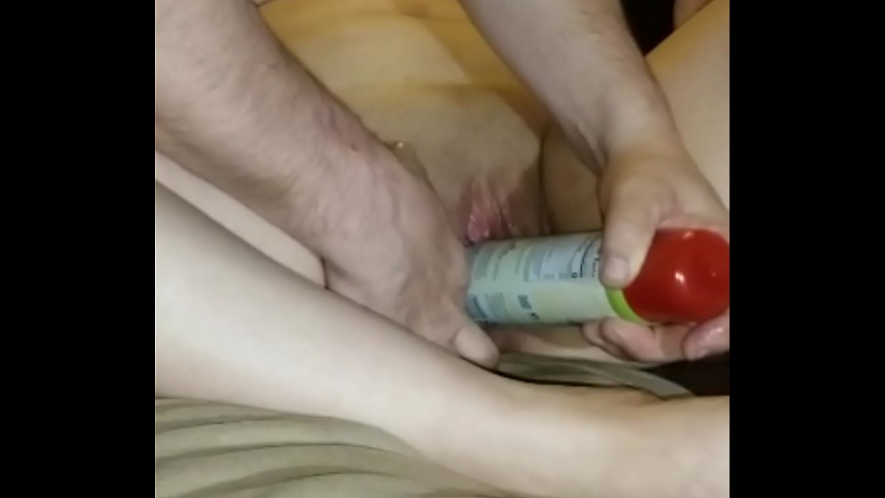 She has put what in her vagina porn