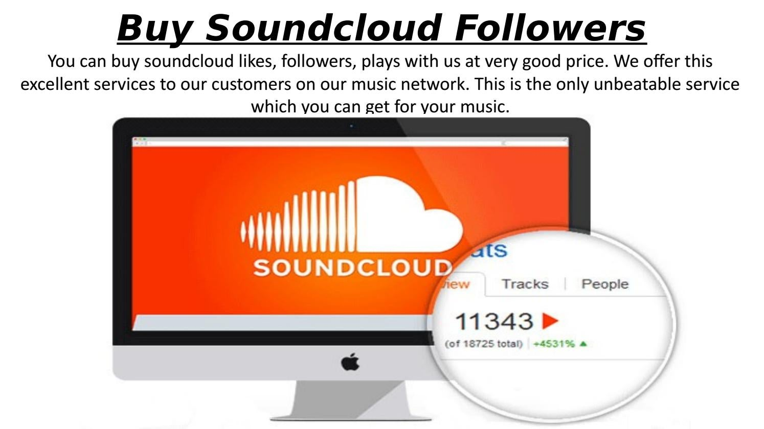 Buy music from soundcloud