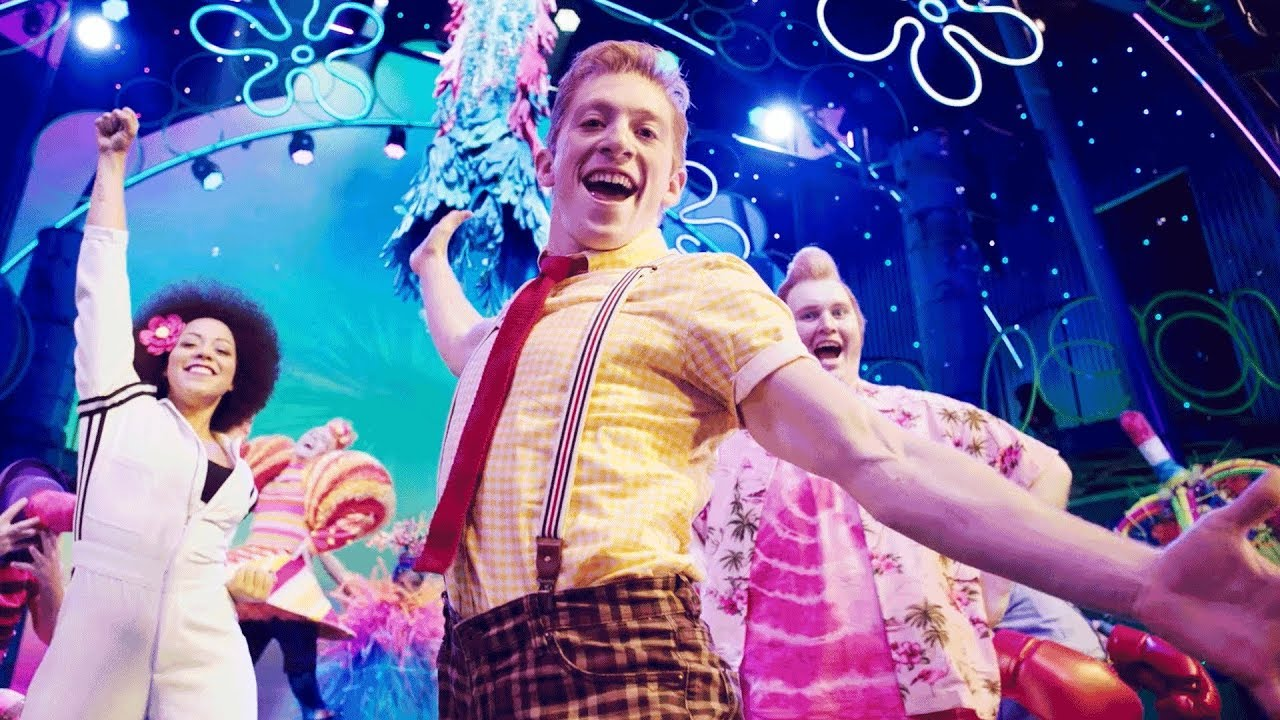 The spongebob musical state theatre new jersey november 29