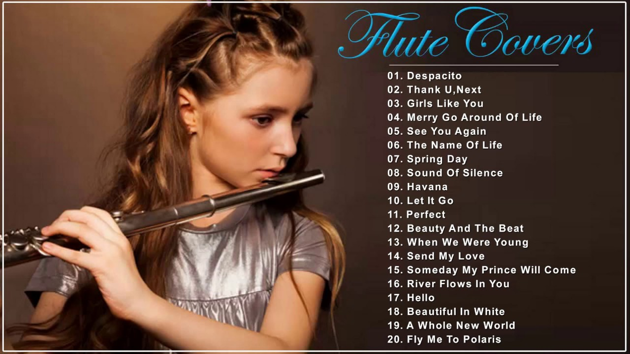 Flute covers of popular songs