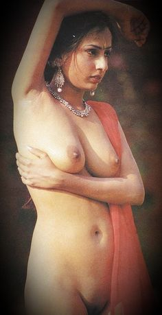 Nude indian real black beauty